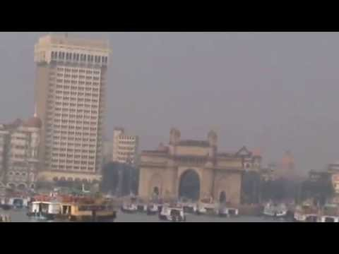 Taj Hotel  and Gateway of India in Mumbai