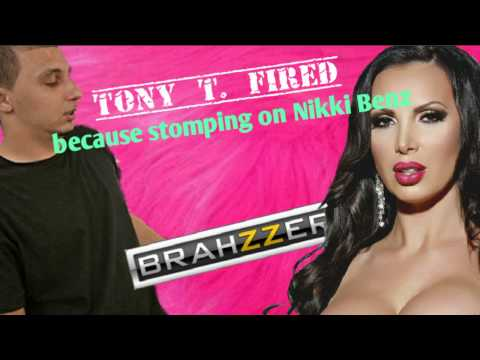 Tony T. fired by Brazzers - stomping on head of Nikki Benz [Jenna Jameson Statement] 💥👊 from YouTube · Duration:  1 minutes 34 seconds