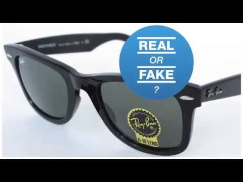 authentic ray bans  How to Identify Fake Ray-Ban Wayfarer Sunglasses 芦 Fashion
