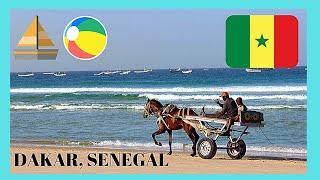 SENEGAL: Famous beach