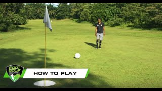 How to play Footgolf