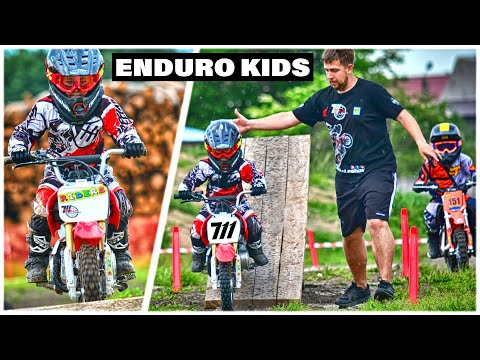 4kHD Motorancho TimaKuleshov 6years  Enduro Motokids Honda CRF50cc Race !