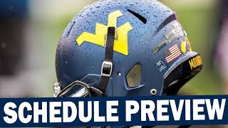 West Virginia 2019 Schedule Preview / Projected Win Total