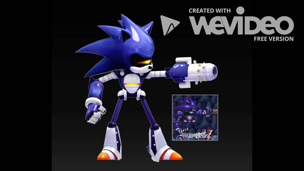 Mecha sonic Theme remix Doomsday zone - YouTube
