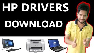 How To Download Hp Laptop Drivers    Hp laptop ka driver kaise download kare  