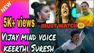 Vijay | keerthi Suresh troll😂😂😂