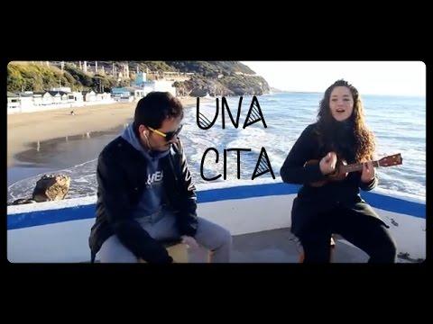 Una Cita - Alkilados (cover Ukelele & Guitarra) Sarai & Enric