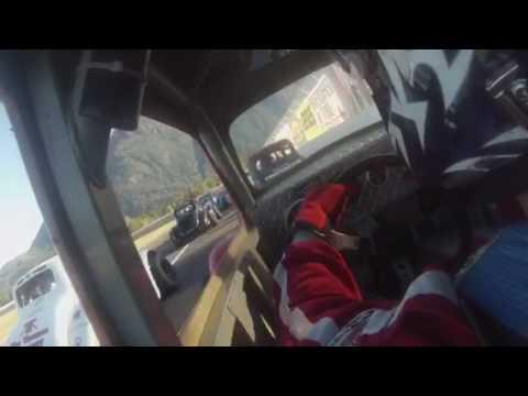 Legend car racing at Alaska raceway park. Final race