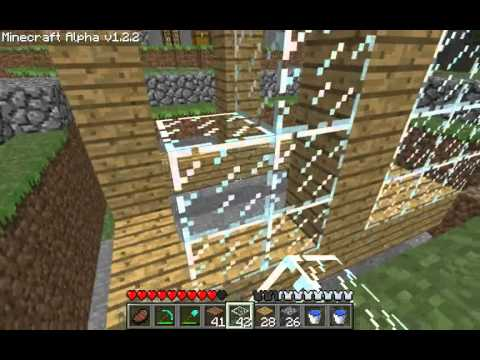 Minecraft Tutorials – 23 – How to Survive & Thrive (Mob Trap)