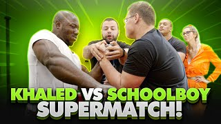 REMATCH! SCHOOLBOY vs KHALED!