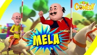 Motu Patlu- EP20A | Mela | Funny Videos For Kids | Wow Kidz Comedy