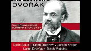 Dvorak Trio in F Minor, Op. 65: Poco Adagio: Golub, Dicterow, Kreger