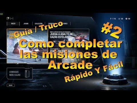 [GUÍA / TRUCO] COMPLETAR ÁRCADE FÁCIL Y RÁPIDO #2   STAR WARS BATTLEFRONT 2