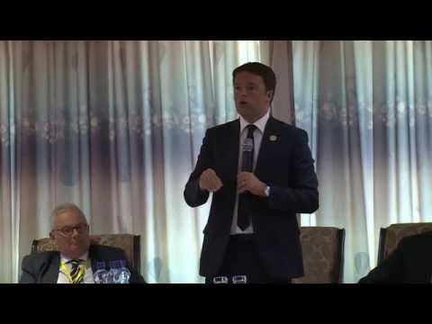 "Renzi in Etiopia - Intervento all'evento The New Italian Development Finance Institution"""