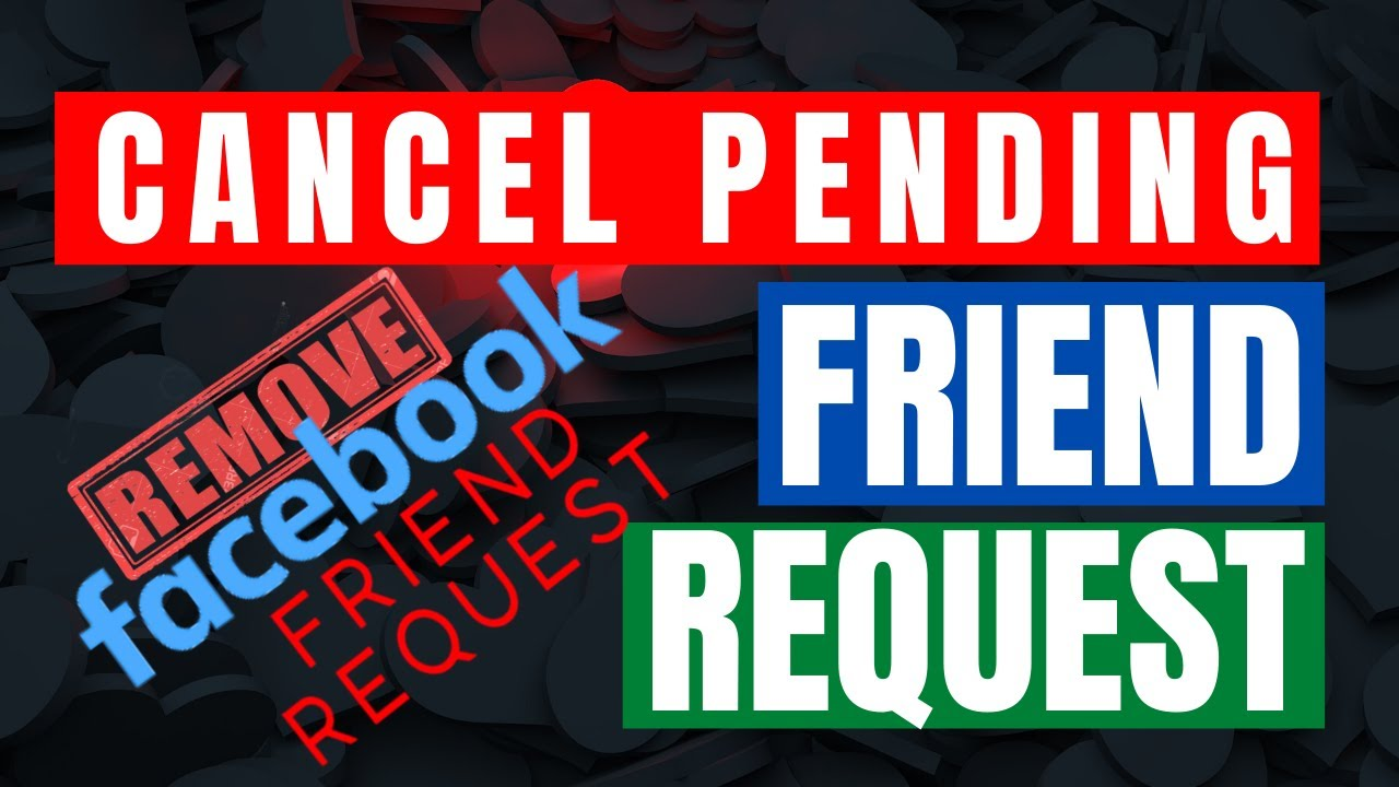 How TO Cancel Pending Friends Request On Facebook 2017