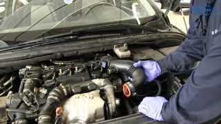 Peugeot 307 hdi - Remplacement du filtre à air