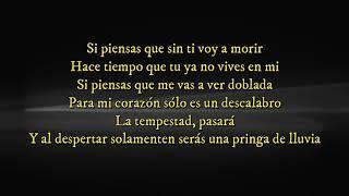 Ya no vives en mi (letra) Yuri ft Carlos Rivera