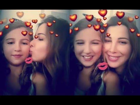 NancyAjram with Daughter Mila نانسي عجرم مع ابنتها میلا