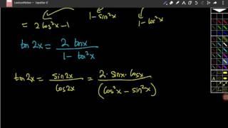 Yarım açı formüllerinin ispatları Video