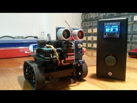 Arduino Robot Explorer Automa Obstacle Avoidance