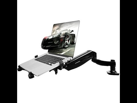 Review: Great laptop desk mount that fully articulates, rises and lowers