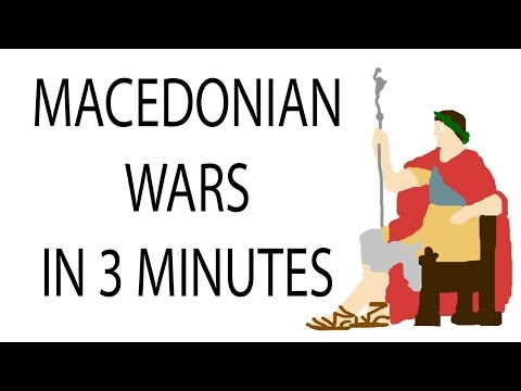 Macedonian Wars | 3 Minute History