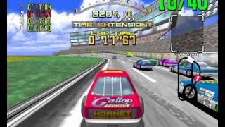 Daytona USA Arcade - Beginner Course