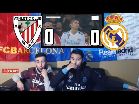 REAL MADRID DROPS 2 PRECIOUS POINTS AGAINST BILBAO 0-0😂😡 - BARÇA x MADRID FANS REACTION