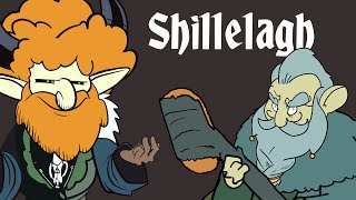 Shillelagh Spell Candle Inspired by Dungeons and Dragons RPG
