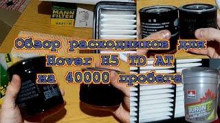 Расходники для ТО Hover H5 TD AT. Фильтра. Масло Petro-Canada DURON-E SYNTHETIC 10W-40.