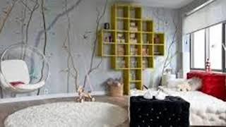 bedroom wallpaper ideas - wallpaper for small living room, bedroom, dining room ideas