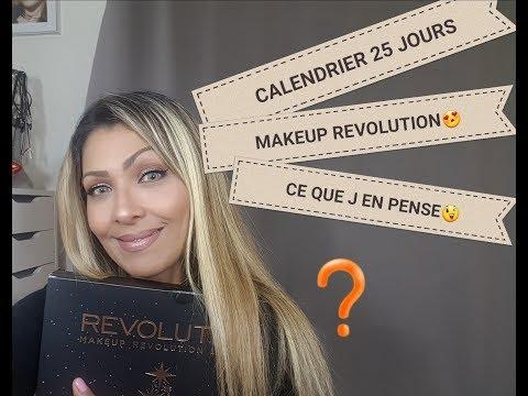 25 JOURS MON CALENDRIER DE L AVENT🌞MAKEUP REVOLUTION( CE QUE J AI DÉCOUVERT😉)