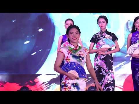Trình Diễn Trang Phục Sườn Xám - Nét Đẹp Cộng Đồng Nữ Sinh Việt Hoa 2019