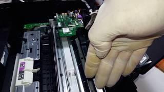 """SOLUCION Falso error """"Atasco de papel"""" HP 3515"""