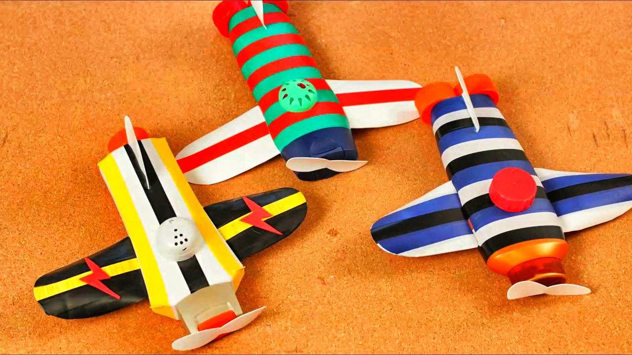 Muñecos Hechos De Papel Muestran Diversidad De Ecuador: ¿ Como Hacer Unos Avioncitos De Juguete Con Botellas De