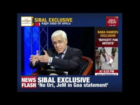 Former Law Minister Kapil Sibal Speaks Out On PM Modi's Bric Submit Statment
