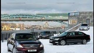 Наши Тесты Nissan Teana, Hyundai Grandeur, Skoda SuperB