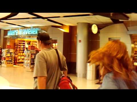 Inside The Houston Intercontinental Airport