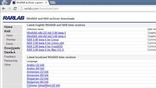 How to Download and Install Winrar for Windows 7