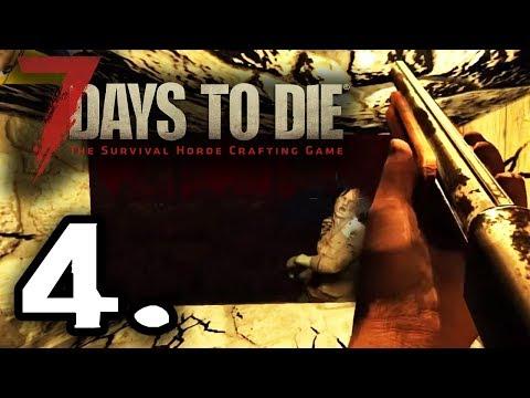7 DAYS TO DIE - SUFRIENDO LA PRIMERA HORDA #4 - GAMEPLAY ESPAÑOL