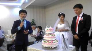 свадьба Айнагуль и Азамата