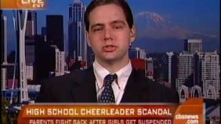 Nude Cheerleader Pics Scandal