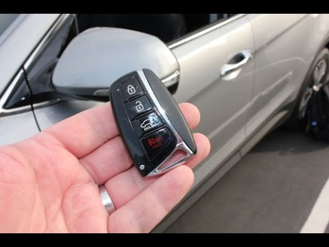 Start your car with your PHONE! or OEM keyfob!: 2013 Hyundai Santa Fe