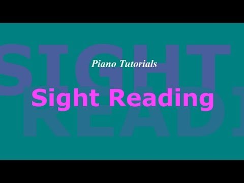 Piano Sight-Reading Lesson 8.1: Techniques