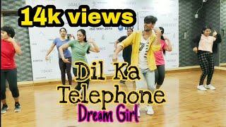 Dil Ka Telephone Song Dream Girl Movie Zumba Dance Ayushmann khurrana jonota Gandhi nakash aziz