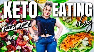 WHAT I EAT IN A DAY TO LOSE WEIGHT 2019 / KETO FULL DAY EATING / DANIELA DIARIES