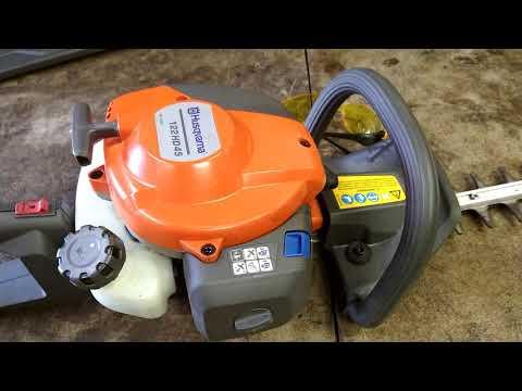 husqvarna 122hd45 hedge trimmer fuel line repair
