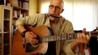 neil Young hey hey my my cover (harp = G)