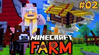 EIN TORNADO ZERSTÖRT UNSERE FARM? ✿ Minecraft FARM #02 [Deutsch/HD]