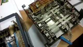 видео Реверсивный тиристорный двигатель постоянного тока
